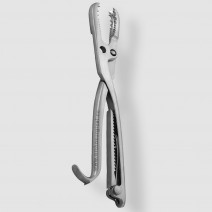 "Farabeuf lambotte bone holding forceps, adjustable jaws, 26cm (10.25"")"