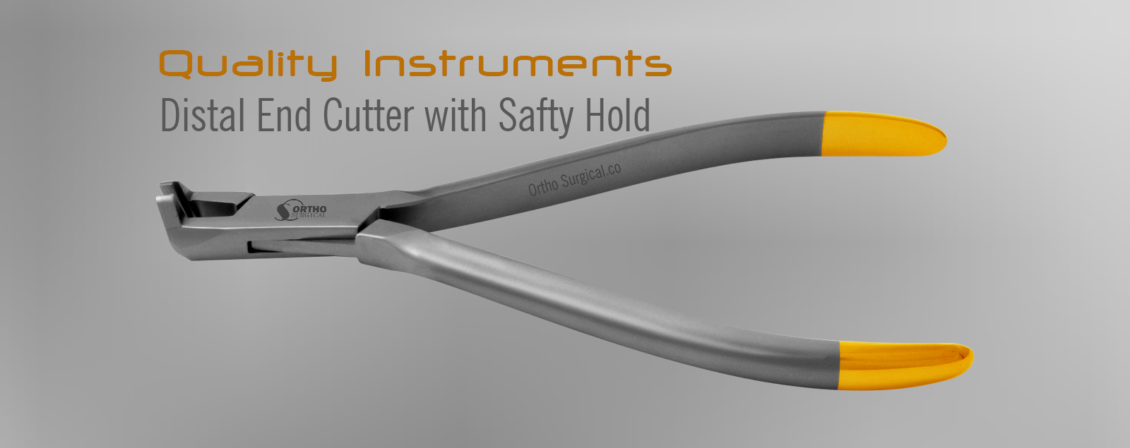 Distal End Cutter with Safty Hold