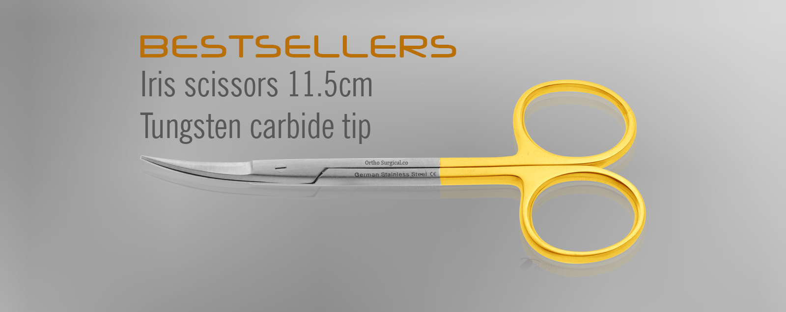 Iris Scissors Tangsten Carbide Tip